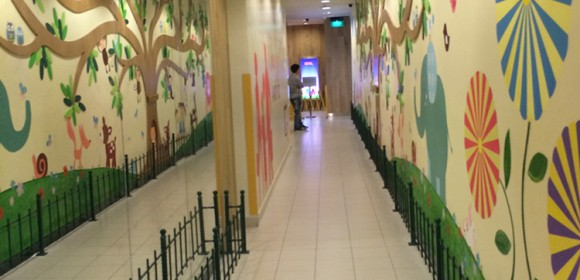 Kids' Mural at Jurong Point