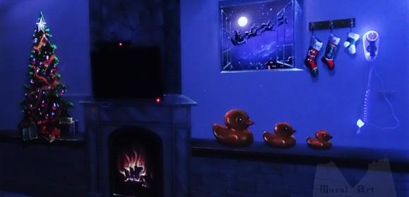 Double effect-Christmas night