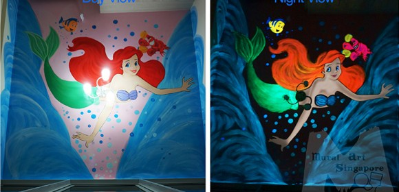 Luminous Painting-Little mermaid