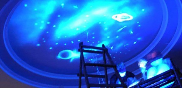 Invisible Painting-Galaxy ceiling