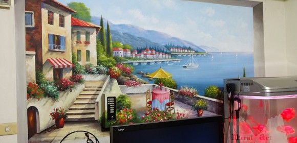 3D scenery painting
