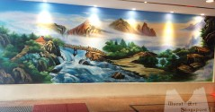 Fortune center mural painting